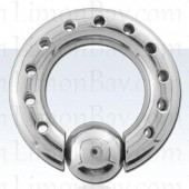 6.5mm Porthole ball closure ring