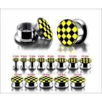 Internal Screw Fit Logo Ear Plug