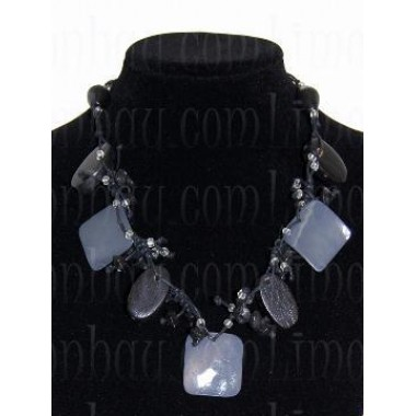 Collar Canción de Mar – Negro